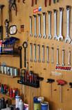 Werkstatt Werkzeugwand